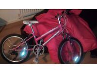 "Claud butler girls mountain bike 20"" suit 6 to 10 year old very good condition £40."