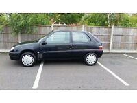 2001 citroen saxo 11 months mot low milage bargain ideal first car