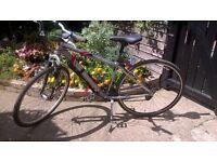 Men's Saracen 21 gear Hybrid/mountain bike