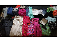 Mix of Clothes...Dresses/Jacket/Tops/Scarves/Jeans/Shorts/Accesories...etc...Sizes 8-12