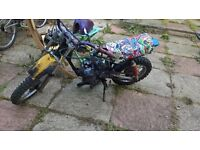 suzuki rm50 mx\field bike
