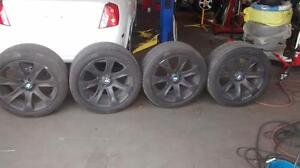 2002 Bmw 275/40/20 315/35/20 tires and rims