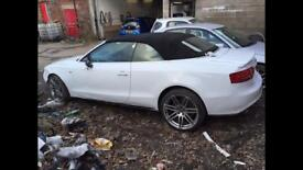 Audi A5 3.0 tdi convertible breaking stronic