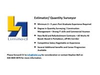 Estimator/ Quantity Surveyor