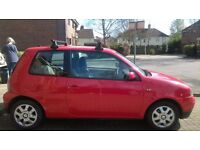 Red Seat Arosa 1.4 L automatic