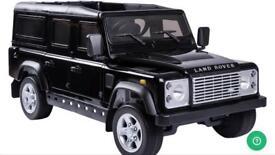 Children 12v licensed Land Rover Defender BNIB