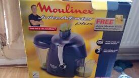 Moulinex juice master plus brand new in box