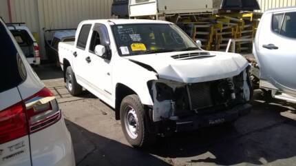 2009 HOLDEN COLORADO 2WD DUAL CAB WHITE PARTS FOR SALE