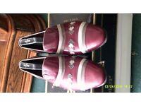 Slip- ON Shoe By Mister Of Spain Size U.K. 8