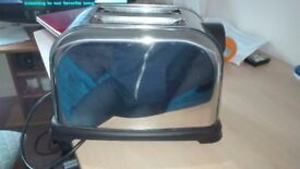 Stainles steel toaster for sale