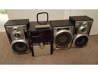 Panasonic cd stereo system model SC - AK750
