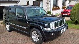 JEEP COMMANDER LIMITED 3.0CRD 4x4. AUTOMATIC. 7 SEAT. MOT MAY 2018