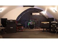 Music Rehearsal Rooms - West London - Full Backline - From £6/h