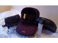 Silvercross simplicity car seat and isofix +extras