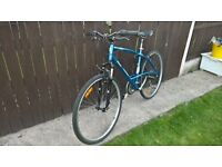 mountain bike cycle front suspension lightweight alloy 29er mtb like new