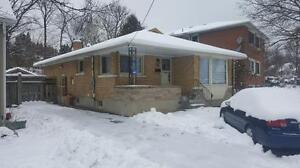 $1400/MONTH ALL INCLUSIVE |Upper Level Bungalow| STIRLING AVE S
