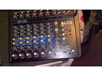 alto zmx122 audio mixer