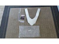 DecalHeadlight Sticker kit headlight fairing White Corse edition Ducati Panigale 1199