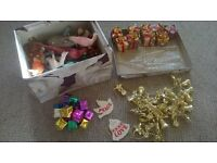 CHRISTMAS DECORATIONS INC. SOME OLD FEATHERED ONES GLUSBURN BD20 8DW, W.YORKS near DOG & GUN /MALSIS
