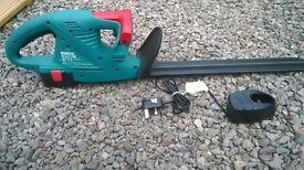 Cordless BOSCH hedge trimmer 14.4 volt