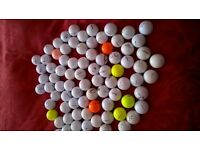 83 Used Golf balls of Various makes and quality