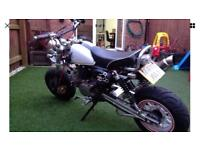 1998 Monkey Bike (160cc engine) road registered