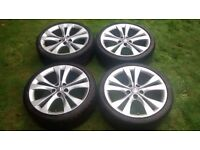 "Vauxhall Insignia 20"" Inch VX LINE Alloy Wheels and Tyres"