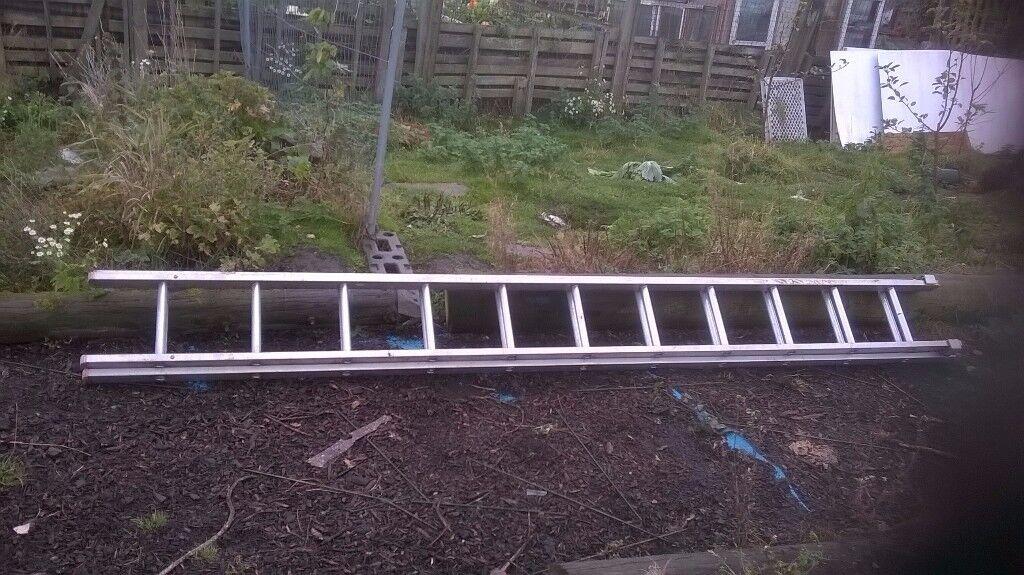 22 feet Aluminium Ladders £45
