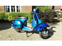 LML Star Deluxe 200cc 4T - Modified with spare parts included