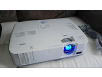 NEC Projector M260X . Excellent Condition . With HDMI cable