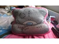 Tatty Teddy cushion