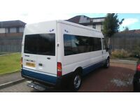 2005 15 seater minibus with psv mot, £2250 no vat, looks and drives great, may swap why try me
