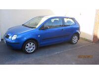 2005 VW Polo 1.4 Tdi 3 door model.