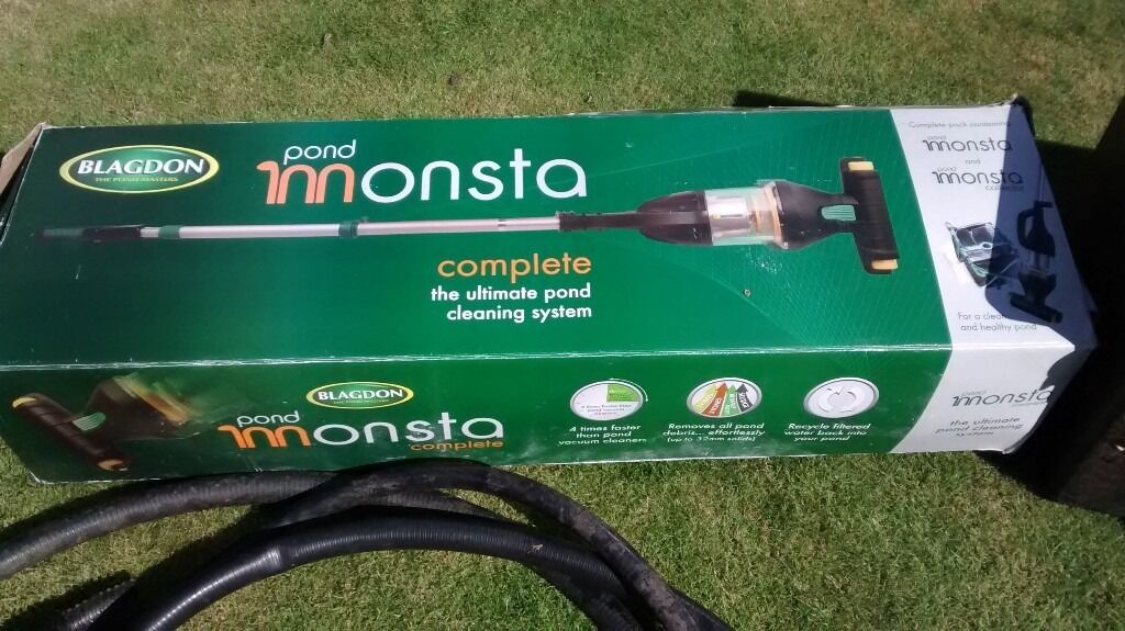 Garden Pond Vacuum Cleaner: BLAGDON POND MONSTA