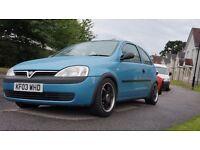 Vauxhall Corsa C (swap)