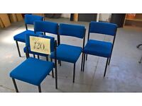 Used Blue Stacking/Meeting Chairs Priced Each