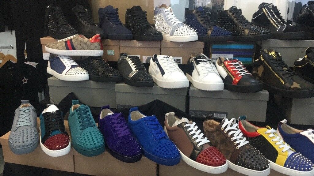 new styles 1ecde 2d29f CHRISTIAN LOUBOUTINS FENDI GUCCI GIVENCY GUISSEPPPES NIKE ADDIDAS HUGO BOSS