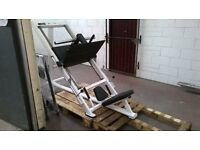 45 Degree plate loaded Leg Press. Exigo. VGC.£695.similar to Life Fitness Hammer Strength