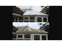 Fascias ,soffits, gutters and conservatory cleans