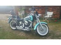Harley davidson fat boy 1340 evo