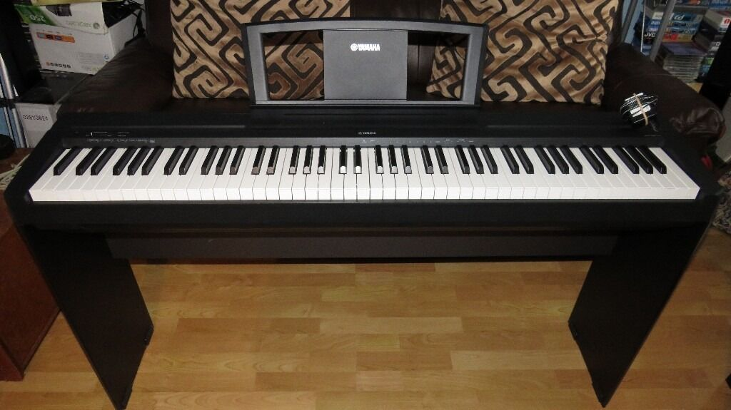 Yamaha p35 portable digital piano w yamaha l85 stand m for Yamaha l85 stand