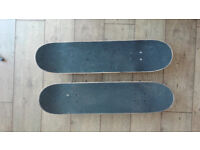 2 Skateboards for 20 GBP or 1 for 15 GBP .