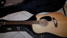 Takamine 12-strong Semi-Acoustic Guitar