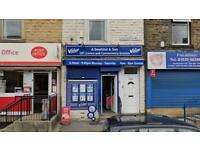 Shop to lease for 5 years in Keighley