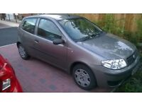 2006 fiat punto 1.2cc active met grey low millage mot lovely little first car bargain £650