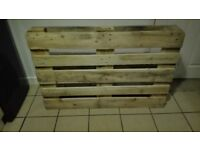 Solid Wooden Pallets, Perfect For Furniture Makers £10 each brand new.
