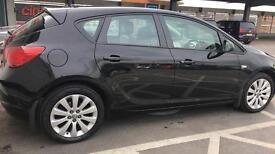 Black Vauxhall Astra 60 Plate 1.6