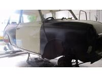 mobile welding classic car welder fabrication service mot repairs car restoration project