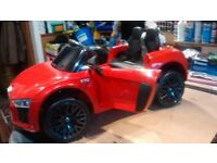 12v Electric Ride on Audi R8 Spyder Roadster (Licensed)
