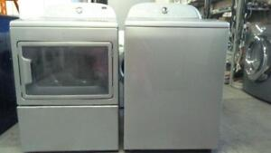 82-Laveuse Sécheuse  WHIRLPOOL CABRIO GRISE  / GREY  Washer Dryer
